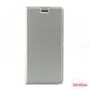 CELLECT Samsung Galaxy J6 Flip oldalra nyiltó tok, Silver