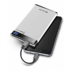 CELLULARLINE FreePower Manta 6000 mAh powerbank - 2 kimenet - fehér