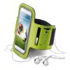 """CELLULARLINE karpánt futáshoz, okostelefonokhoz és zenelejátszókhoz, univerzális, 5""""-ig, zöld"""