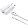 CELLULARLINE kompakt Hálózati töltő, iPhone 5/5S/5C/6/6 Plus, (Apple által hitelesített kiegészítő)