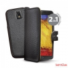 CELLY Samsung Note 3 flip cover tok, fekete