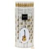 Ceruza, radíros végű, gitáros mintával