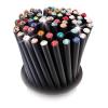 . Ceruzák, 5 db, bíbor lila kristállyal, Crystals from SWAROVSKI®,  fekete,
