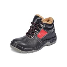 Cerva Bakancs fekete JENA SC-03-012 bélelt S3 42 munkavédelmi cipő