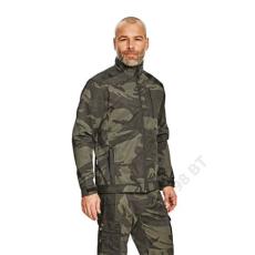 Cerva CRAMBE SOFTSHELL kabát terepszínű
