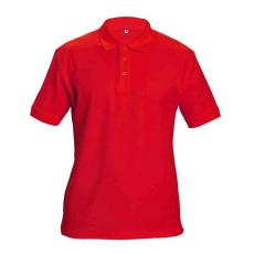 Cerva DHANU tenisz póló piros XXXL