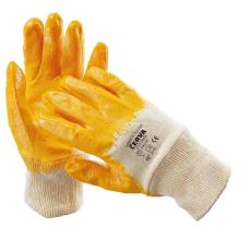 Cerva HARRIER sárga mártott nitril kesztyű - 10