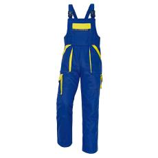 Cerva MAX kertésznadrág kék/sárga 56