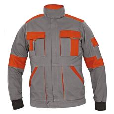 Cerva MAX LADY női kabát szürke/narancs 46
