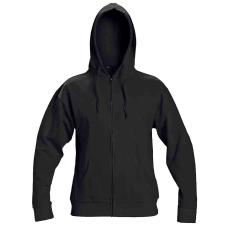 Cerva NAGAR csuklyás pulóver fekete L