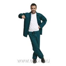 Cerva Öltöny deréknadrág+kabát zöld BE-01-001 60