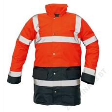 Cerva SEFTON kabát HV piros/navy