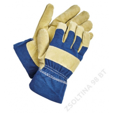 Cerva SHAG komb.téli kesztyű sárga-kék