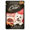 Cesar teljes értékű állateledel felnőtt kutyák számára lágy marhával és sárgarépával aszpikban 100 g