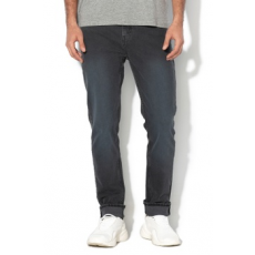 Cheap Monday , Sonic slim fit farmernadrág, Sötétszürke, W32-L34 (0570036-BLUE-W32-L34)