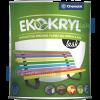 Chemolak Ekokryl Univerzális Fényes Akrilfesték v2062 (Barna) - 0,6 L.