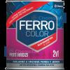 Chemolak Ferro Color 2:1 Oldószeres, Selyemfényű Zománcfesték (Ezüst) - 0,3 L.