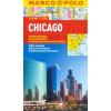 Chicago vízhatlan várostérkép tömegközlekedéssel - Marco Polo