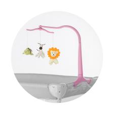 Chipolino utazóágy forgó - Pink bébijáték kiságyra
