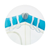 Chipolino utazóágy kapaszkodó karikák - 4dbos