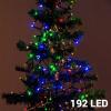 Christmas Planet Színes Karácsonyi Fényfüzér 192 LED