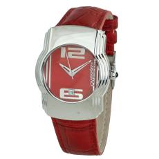 CHRONOTECH óra karóra Unisex férfi női piros piros ásványi Quartz