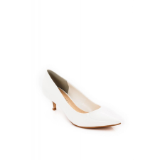 Cipő Montonelli Prémium Valódi Bőr női fehér magassarkú cipő 36 /kac női cipő