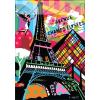 Cities/Metropolis - Párizs kockás füzet, 40 lap, A/5 - MAR MAR