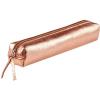 Clairefontaine bőr tolltartó 4x2,5x19,5 cm, slim, bronz