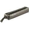 Clairefontaine bőr tolltartó 4x2,5x19,5 cm, slim, ezüst