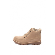 Clarks , Comet Moon bőrbakancs, Bézs, 33 EU (COMET-MOON-SAND-LEATHER-G-33)