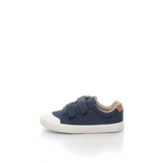 Clarks , Comic Air vászon sneakers cipő, Tengerészkék, 28 EU (COMIC-AIR-NAVY-CANVAS-10)