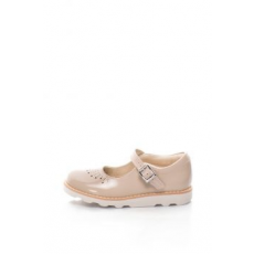 Clarks , Crown Jump Mary Jane cipő, Barackszín, 28 EU (CROWN-JUMP-BLUSH-10)