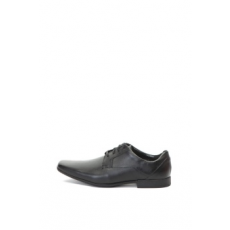 Clarks , Glement bőrcipő, Fekete, 7 (GLEMENT-LACE-BLACK-LEATHER-41)