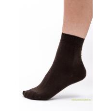 Classic pamut zokni 5 pár - barna 35-36