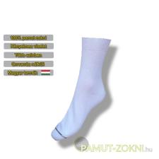 Classic pamut zokni - fehér 35-36 női zokni