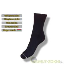 Classic pamut zokni - fekete 31-32