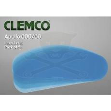 Clemco International Homokfúvó géphez védősisak Apollo 600 tartozék 5 db-os belsőfólia Clemco (04367)