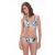 Cocoa ISLAND merevítős multiway bikini felső - fehér