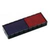 """COLOP Bélyegző cserepárna, 2 db/bliszter, kétszínű változat, COLOP \""""E/12/2\"""", kék-piros [2 db]"""