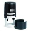 COLOP Bélyegzo, kör, COLOP Printer R 40, kék cserepárnával