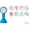 COLOP Motivációs bélyegző N43-kék Szép munka! LILA