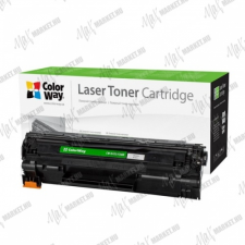 ColorWay Standard Toner CW-H435/436M, 2000 oldal, Fekete - HP CB435A/CB436A/CE285A; Can. 712/713/725 nyomtatópatron & toner