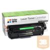 ColorWay Toner CW-HQ2612/FX10EU, 2000 oldal, Fekete - HP Q2612A (12A); Can. 703/FX9/FX10