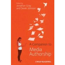 Companion to Media Authorship – Jonathan Gray idegen nyelvű könyv
