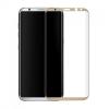 Comtrading LCD Glass Screen 3D teljes kijelzős edzett üvegfólia (tempered glass) 9H keménységű, Samsung Galaxy S8 Plus, arany