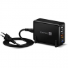 Connect IT Fast Charge CWC-4090-BK fekete