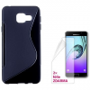 Connect IT S-Cover Samsung Galaxy A3 2016 (SM-A310F) fekete