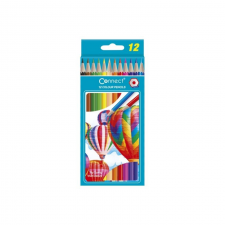 Connect Színes ceruza hatszögletû CONNECT 12db-os készlet, színes ceruza