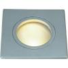 Conrad Kültéri beépíthető lámpa, MR16, szögletes, 111127, kisfeszültségű halogén, titán, G5.3, SLV FGL Outdoor